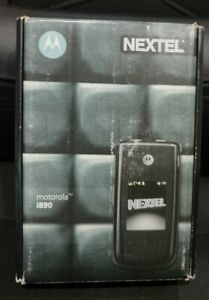 NEW IN BOX MOTOROLA NEXTEL i890 COMPLETE RARE COLLECTORS ITEM IDEN