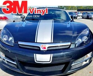 Center Stripes Fits: 2007-2009 Saturn Sky Decals Graphics Factory Style on 3M