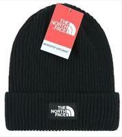 Men The North Face Beanie Warm Unisex Ski Wear Skull Cap Winter Black Beanie Hat