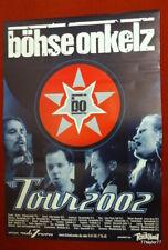 Böhse  Onkelz     Tourplakat   2002  - alle Städte