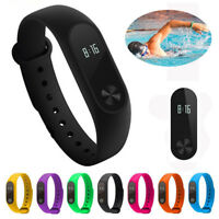 Bluetooth Sport Smart Watch M2 Wristband Bracelet Heart Rate Fitness Tracker USA