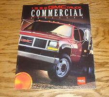 Original 1992 GMC Truck Commercial Vehicles Sales Brochure 92 Sierra Safari