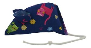 Navy Scatter Catnip Mouse