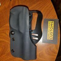 Ruger mark 4  22/45 lite paddle holster optics ready black