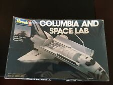 Revell Columbia and Space Lab Model Kit 1981 NASA 1:144 Scale USA Shuttle Rocket