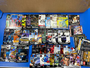 Job Lot Sony Playstation 1 Ps1 Manuals Inlays Inserts