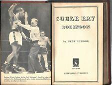 1951 Book - Sugar Ray Robinson ( Welterweight Boxer) by Gene Schoor