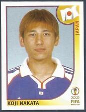 PANINI KOREA/JAPAN WORLD CUP 2002- #537-JAPAN-KOJI NAKATA