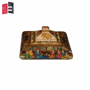 Wooden Carved Bone Inlay Square Box Decorative Bone Inlay Box (MADE TO ORDER)