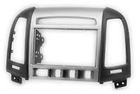 CARAV 11-717 2-DIN Autoradio Radioblende für HYUNDAI Santa Fe 2006-2012 (mit 4 T
