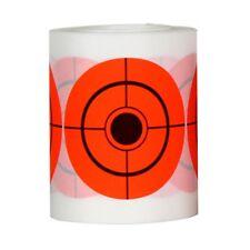 Bright 7.5 Diameter 250Pcs Round High-contrast Orange Shooting Target Stickers