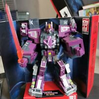 Transformers Universe Nemesis Prime  with K.O Shattered Glass Parallex Upgrade