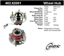 Axle Bearing and Hub Assembly-Premium Hubs Front Centric 402.62001