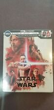 Star Wars: The Last Jedi (DVD, SteelBook Digital Copy 4K Ultra HD Blu-ray NEW!!!
