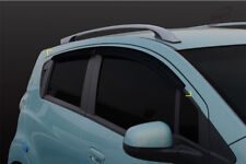 Smoke Tinted Weather Shields Rain Guards for 06/2010-2015 Holden Barina Spark