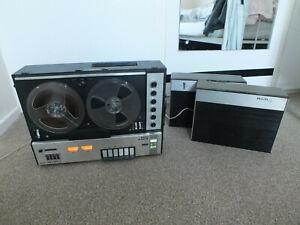 Philips N4408 Reel Tape Recorder Stereo - Vintage working