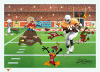 Warner Brothers-The Unstoppable Earl Campbell Limited Edition Cel Signed