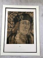 1911 Rare Holbein Print King Henry VII Portrait Painting Antique Large Ltd Edt
