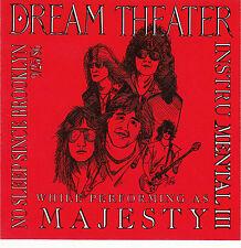 DREAM THEATER InstruMental III / Brooklyn 9/25/1986 Original CD Rainbow / Dio