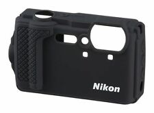 Nikon Silicone case CF-CP3 Black for COOLPIX W300 / AIRMAIL with TRACKING