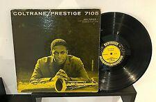 JOHN COLTRANE: Prestige 7105 Orig W50th NYC DG Jazz LP Paul Chambers MONO RVG