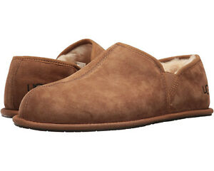 Men UGG Scuff Romeo II Suede Slipper 1113630 Chestnut 100% Authentic Brand New