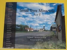 Small Town Minnesota A-Z Great 2000 Photography Book Nice See!