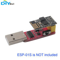 USB to ESP8266 ESP-01 Serial Wifi Wireless Adapter Module w/CH340G Driver IC