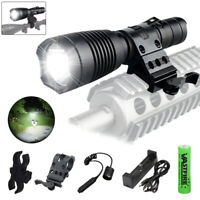 Tactics White T4 LED Weapon Light Constant & Momentary Output Flashlight 2 Modes