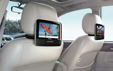 """PHILIPS PD9016 PORTABLE 9"""" DUAL LCD WIDESCREEN DVD PLAYER TRAVEL CAR SPEAKERS"""
