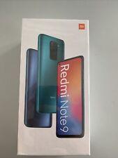 Xiaomi Redmi Note 9 4GB 128GB Smartphone LTE WLAN Bluetooth onyx black NEU OVP
