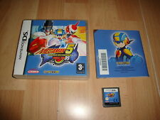 MEGAMAN 5 BATTLE NETWORK DOUBLE TEAM DS PARA LA NINTENDO DS USADO COMPLETO