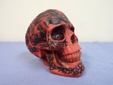 J. C. Quality Crafts Nose Desserts Small Red Skull Storage Container