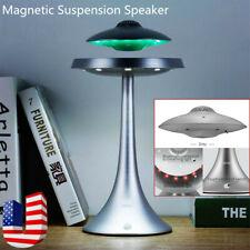 Magnetic Suspension Levitating Wireless Speaker Music Colorful Led Light New