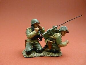 King & Country DD062 (retired) - D.DAY 44  Soldats américains et radio