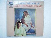 LATA MANGESHKAR HAUNTING MELODIES OF 1967 RARE LP RECORD bollywood VG+