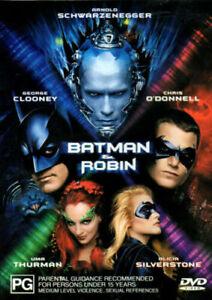 Batman & Robin : New Old Aus Stock : NEW DVD * FREE EXPRESS POST *