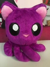 "Tentacle Kitty Little Ones Plum Dark Purple 4"" Stuffed Plush New Cat Octopus"
