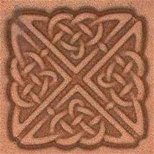 Herramienta de sello de cuero 3d cuadrado celta-Craf sello 853800