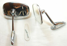 Chrom Spiegel Mercedes, MG, Porsche, Peugeot, Triumph, Chromed Rear View Mirror