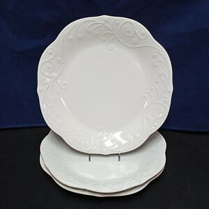 ❤ Lenox  French Perle White Dinner Plate 11 inches