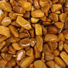 Chakra Stone Charm Yellow Jasper Reiki Healing Gift Gemstone Small Single