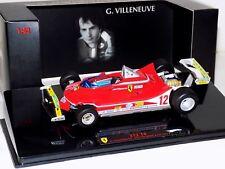 FERRARI 312 T4 G. VILLENEUVE S. AFRICA GP 1979 HOT WHEELS ELITE T6271 1/43