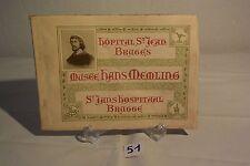 C51 Rare ouvrage livre du musée Hans Memling Brugges Hopital St Jean