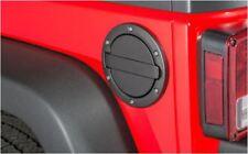 Tankdeckel Blende schwarz Fuel 2+4 Door AMP Jeep Wrangler JK ab BJ 07