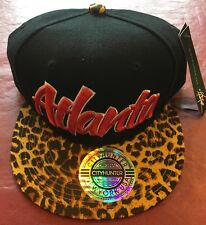 Brooklyn Brand New City Hunter Atlanta Or Chicago  Snap Back Hats