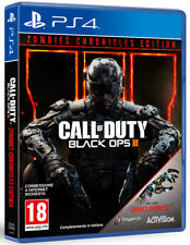 Call Of Duty Black OPS 3 Zombie Chronicles Edition PS4 Playstation 4 IT IMPORT