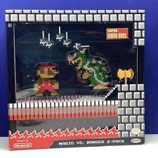 Nintendo action figure Super Mario Bros vs Bowser 2-pack Jakks nib new box toy 2
