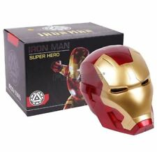 Iron Man Cosplay Mask Touch Sensing with LED Light Collectible Model Toy 1:1