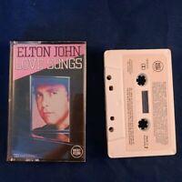 Cassette Tape Elton John Love Songs